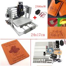details of 3 axis diy mini cnc milling machine engraving router kit 2500mw laser engraver intl