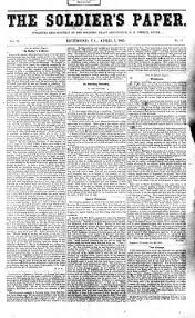 library of virginia civil war research guide newspapers  ier s paper apr 1 1865 front page film 1931
