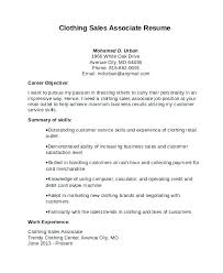Example Of Sales Associate Resumes Sample A Resume Examples And Free
