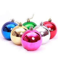 maidodo <b>24PCS 4CM Christmas</b> Balls Bauble- Buy Online in Kuwait ...