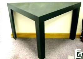 small office desk desks corner tables lack triangle side table in black for 3 ikea