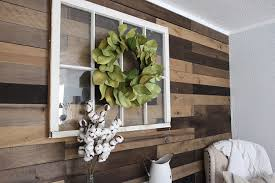 learn how to install weathered wood wall in any space see how laura stewart of junque cottage gives her bedroom a farmhouse makeover by installing