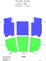 Venue Seating Charts She 100 3 Wshe Chicago