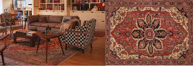 how to pair pattern with oriental rugs