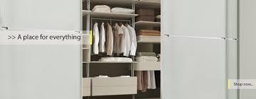banner links to sliding wardrobe kits