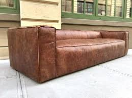 distress leather furniture distressed leather sofa pair of 9 feet contemporary distressed brown leather sofas with