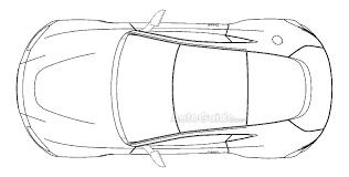 ... 2018 Aston Martin Vantage Patent Drawing  D