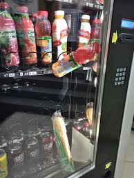 Vending Machine Help Amazing Got A Sandwich Stuck In Vending Machine Bought A Drink To Push The