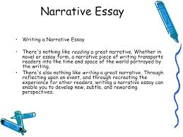 lecture narrative essay narrative essay