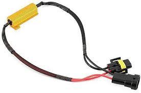 generic h7 h11 50w 6 ohm led drl fog light load resistor wiring generic h7 h11 50w 6 ohm led drl fog light load resistor wiring harness dc 12