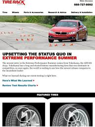 Tire Rack Review Chart Tire Rack Upsetting The Status Quo In Extreme Performance