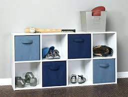 closetmaid cubeicals 9 cube organizer photo 4 of white contemporary kids room with wooden storage units