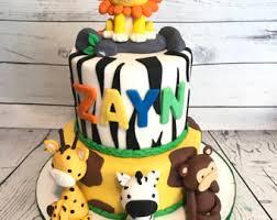 My Creative Way 2 Tier Safari Cake Baby Shower Boys Cake Cakes Baby Shower Safari Cakes
