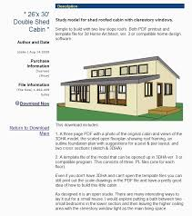 shed roof house plans fresh shed house plans 32 lovely gambrel roof house floor plans pictures