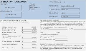 Invoice Schedule Template Progress Billing For Construction Sample Construction Payment