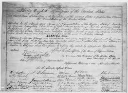 lesson the second inaugural address restoring the thirteenth amendment
