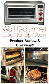 wolf gourmet countertop oven product review giveaway a family feast