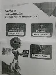 Dibuka maret, cek persyaratan cpns 2021 yang wajib diketahui. Jual Kunci Jawaban Spm Plus Kisi Kisi Usbn Sd Mi 2019 Jakarta Pusat Nesya Store 2020 Tokopedia