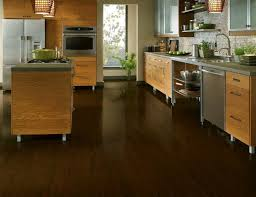 The Dark Laminate Flooring In This Kitchen Looks Almost Identical To  Hardwood. Images