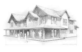 architecture houses sketch. Modren Sketch Inside Architecture Houses Sketch I