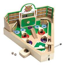 Wooden Baseball Game Toy