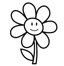 Flowers Coloring Pages For Preschoolers Coloring Pages For