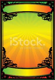 Rasta Poster Stock Vector Freeimages Com