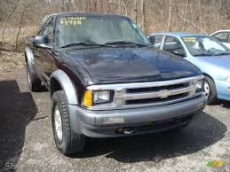 1996 Onyx Black Chevrolet S10 LS Extended Cab 4x4 #27449134 ...