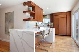 Beautiful Design Mid Century Modern Kitchen Cabinets Ebony Wood ...