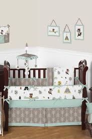 nursery beddings forest animal crib bedding sets in conjunction
