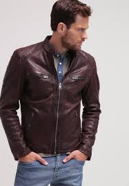 men jackets oakwood bobby leather jacket bordeaux oakwood leather jacket oakwood