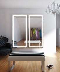 Full Size Mirror With Lights Integrity Lighted Wardrobe Mirror Electric Mirror