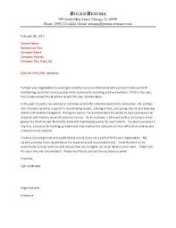 14 Free Sample Cover Letters For Resumes Leterformat