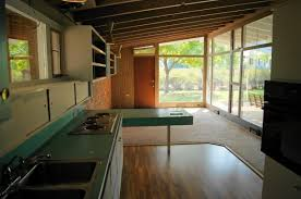 ARCHITECTURE: Mid Century Modern Home Interior With Wood Flooring ...