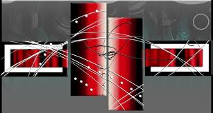 black white red wide stretch 4 panel abstract canvas wall art picture 146cm 57inch on red black white wall art with black white red wide stretch 4 panel abstract canvas wall art