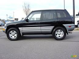 Black 2000 Toyota RAV4 Standard RAV4 Model Exterior Photo ...