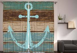 Nautical Bedroom Curtains Sl Sliding Door Curtains Ocean Theme
