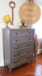 furniture remodeling ideas. painted furniture antique gray dresser makeover this is a great painting technique for those remodeling ideas e
