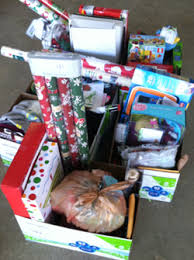 above is a picture of all of the wonderful gifts that we collected throughout the mip dept for the angels among us 2016 holiday caign