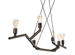 tech lighting 700lsakmb36 chandelier buildcom