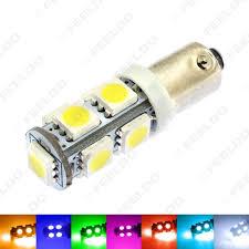 Ba9s Led Light Bulb 1pcs 7 Color Ba9s T4w 1895 5050 Chip 9smd 9led Car Led Light Bulbs Side Light Reading Light Dc12v