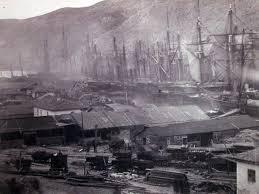 История появления железных дорог на Крымском полуострове Крым на  Строительство железной дороги англичанами в Балаклаве