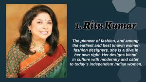 Top Female Fashion Designers Top 10 Most Famous Indian Women Fashion Designers 2017 Youtube