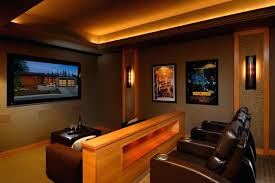 home theater rooms design ideas. Theater Room Home Rooms Design Ideas For Well Small Theaters And Modern Sconce Lighting G