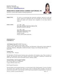Example Of Resume For A Job Awesome Resume For Internship Singapore