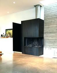 steel fireplace surround amazing decoration stainless unbelievable