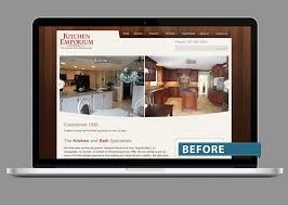 Kitchen Web Design