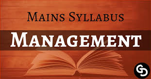 Download UPSC Mains Management Optional Syllabus PDF - UPSC Hub