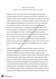 macbeth text response essay year vce english thinkswap macbeth text response essay villains
