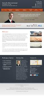 Law Firm Brochure Beauteous Indiana Bankruptcy Attorney Web Design